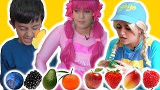 يويو ودودي ولعبة شوربة الفواكة yoyo and dodi fruits soap