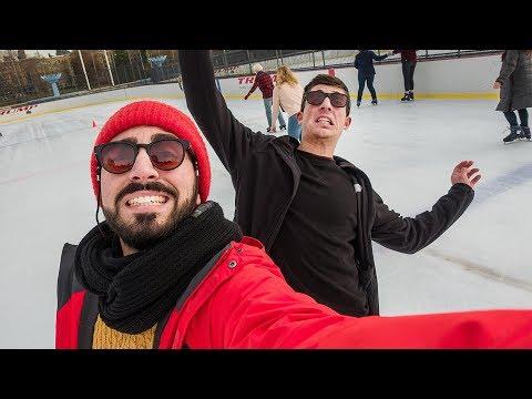 Sul ghiaccio a Central Park - NYC ultima puntata + ASK