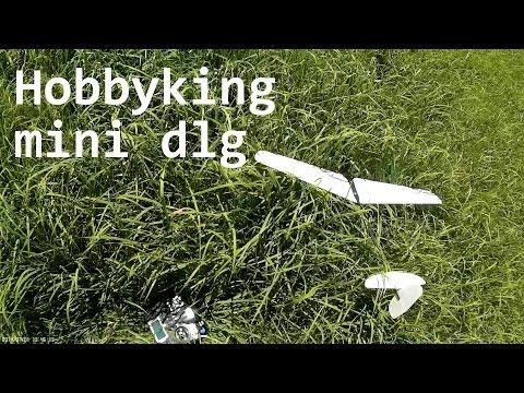 HobbyKing mini dlg flying on a nice day