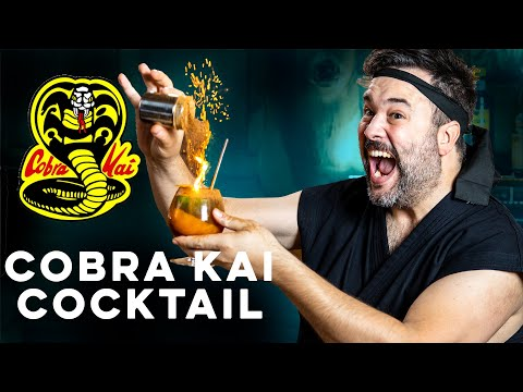 Badass Drink for Cobra Kai | How to Drink