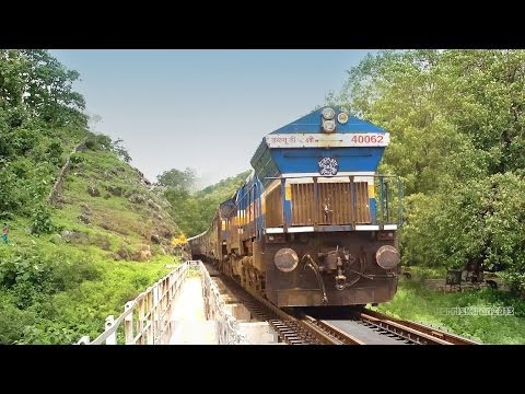 Bangalore's Longest Train 2721 KM  Sanghamitra Express