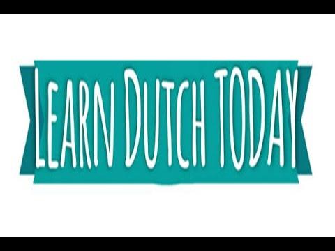 Dutch Language/BAR EQUIPMENT  /Learn Today