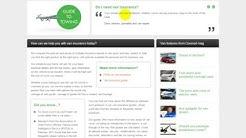 Van insurance comparison service