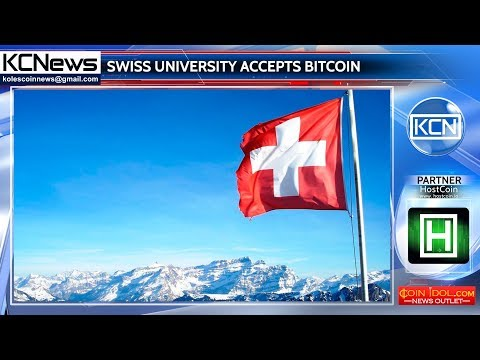 A Swiss university now accepts bitcoin