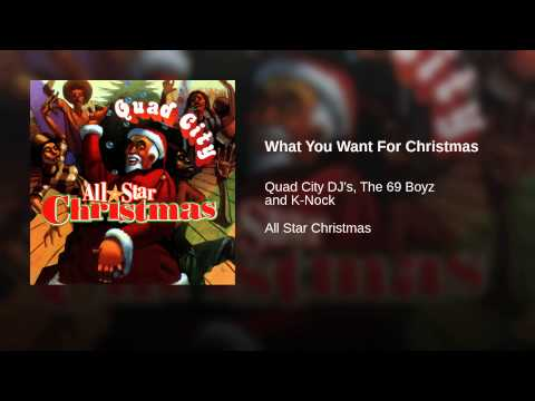What You Want For Christmas