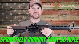 SPRINGFIELD ARMORY SAINT B5 MLOK 5.56 AR-15 RIFLE Review