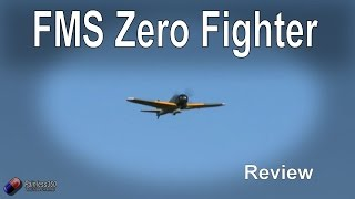 RC Reviews: FMS Zero Fighter A6M5 (from Banggood)