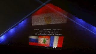 Egypt mourns Sinai crash, Beirut blasts, Paris carnage victims