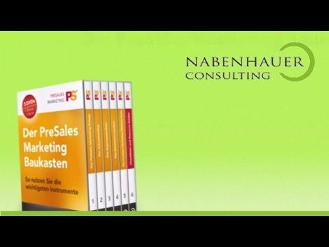 Der PreSales Marketing Baukasten - Inhalt und Funktionsweise - Nabenhauer Consulting