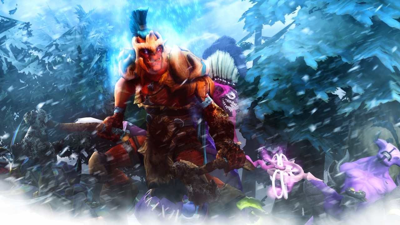 dota 2 how to jungle troll warlord patch 7 02 youtube
