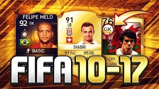 One of TheGamerCan's most viewed videos: FIFA 10-17 CRAZIEST POSITION CHANGES! HOW THEY CHANGED IN FUT! #1: