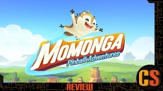 MOMONGA PINBALL ADVENTURES - PS4 REVIEW (Video Game Video Review)