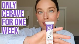 I Tried Only Cerave Products For One Week | Full Cerave Skincare Review | Emily DiDonato
