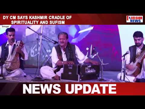 Dy CM says Kashmir cradle of spirituality and Sufism