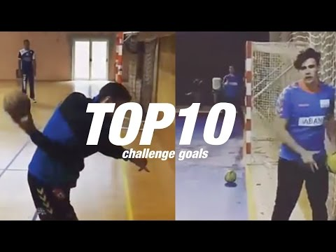 Top 10 Handball challenge goals - Freestyle