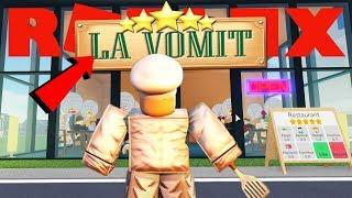 ROBLOX RESTAURANTE TYCOON 2 !! | la ⭐⭐⭐⭐⭐ la vomit
