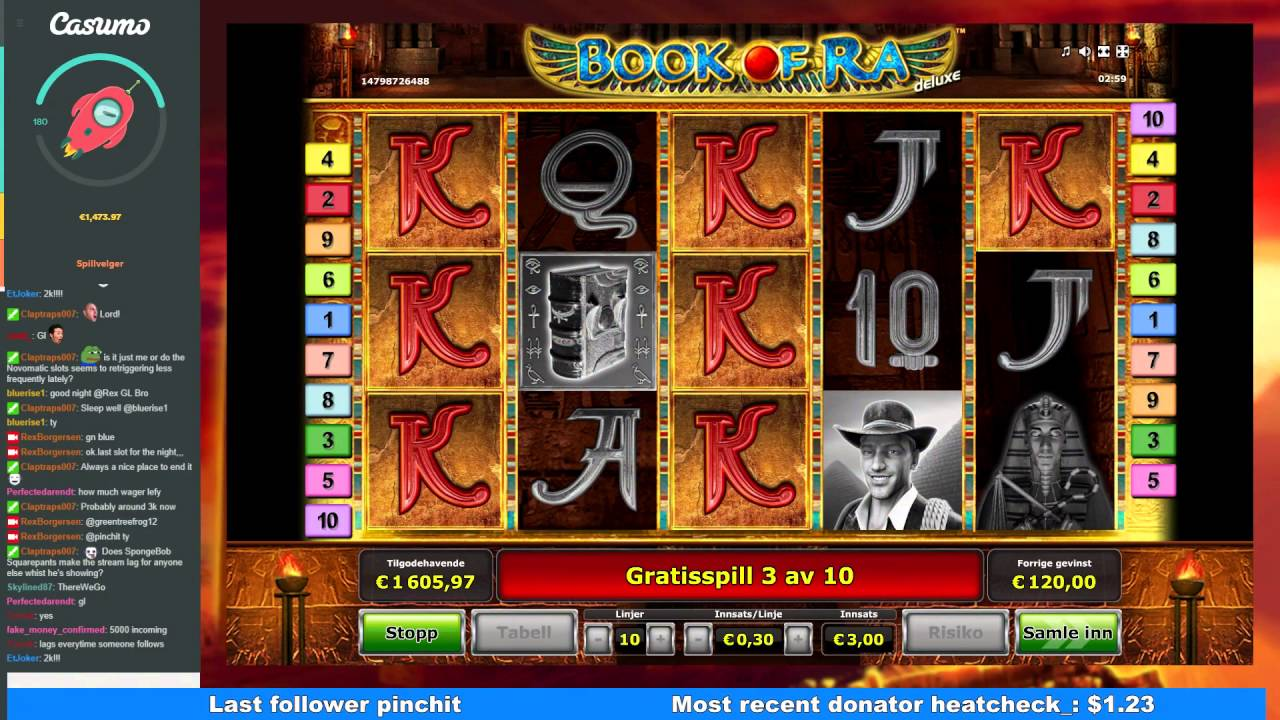 Book Of Ra Big Win
