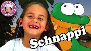 Miley singt SCHNAPPI das Kleine Krokodil deutsch | CuteBabyMiley Kinderkanal