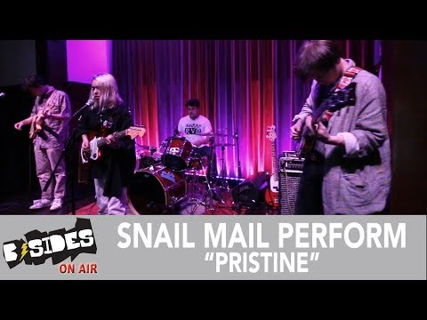"B-Sides On-Air: Snail Mail Perform ""Pristine"""