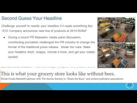 RSNA 2014 Online Press Office Tips & Tricks
