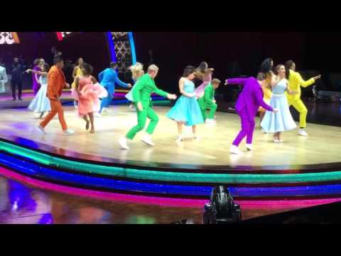 SCD Live Tour Leeds 2nd Feb 2017. Opening Group Dance