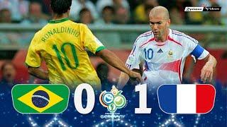 Brasil 0 x 1 France ● 2006 World Cup Extended Goals & Highlights HD