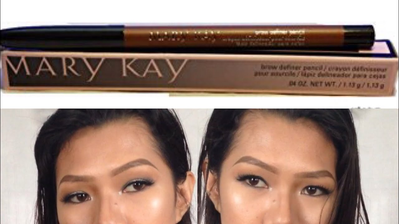 Mary Kay Brow Definer Pencil Review And Wear Test Youtube
