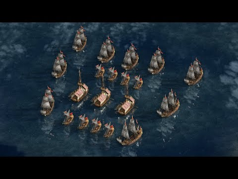 Cossacks 3 - Mission 3 HELPING MESSINA | Dawn of the French Fleet