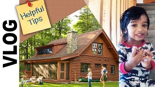 How to spend a day in Cabin ? | Smoky Mountain, USA | Tips & Ideas | Tamil Vlogs