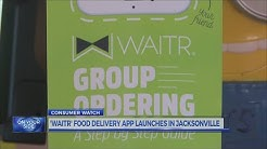 'WAITR' food delivery app launches in Jacksonville