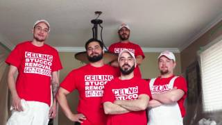 Popcorn Ceiling Removal by Ceiling Stucco Removal Specialists