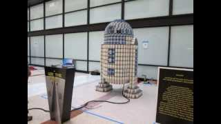 Sf Canstruction 2012 - R2-can2 Time Lapse Build (jurors' Favorite)
