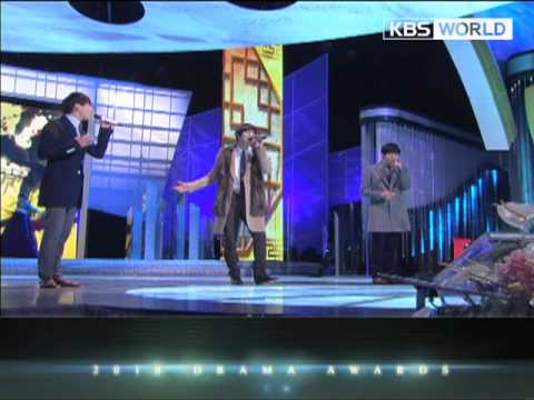 [2010 KBS Drama Awards] JYJ - Found It