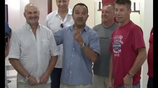 Спорт. Бокс. Открытие зала бокса Орзубека Назарова 31.08.16