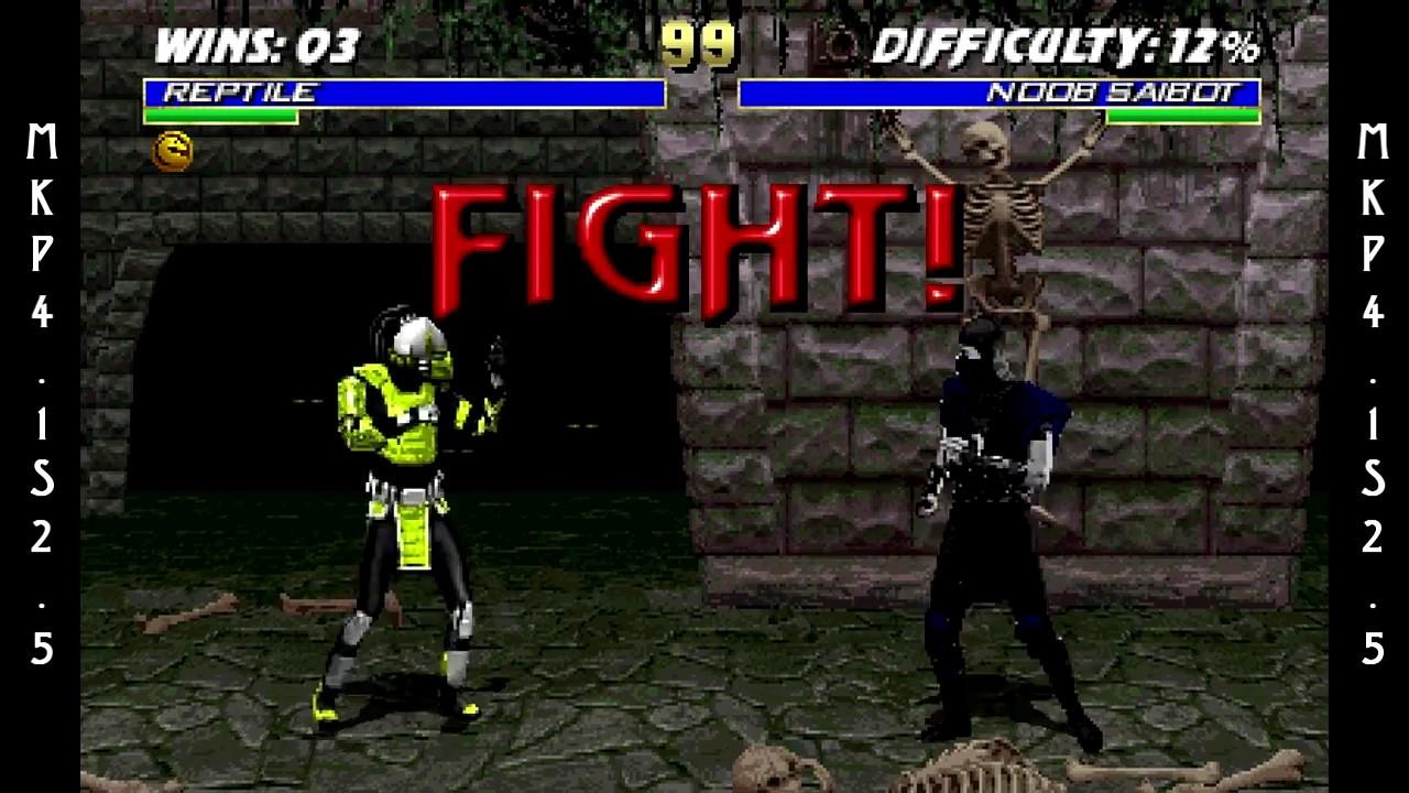 Mortal kombat reptile unmasked
