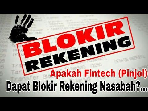 Apakah Fintech (Pinjaman Online) Dapat Memblokir Rekening Nasabah?...Ini Jawabannya