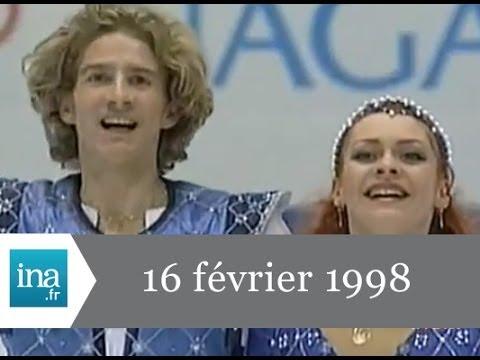 JT France 2 20h  16 février 1998 - Archive INA