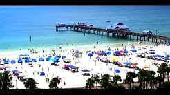 View from Jimmy's Crow's Nest at Clearwater Beach
