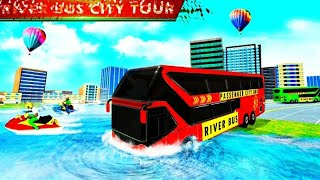 River Coach Bus Driving Game - City River Ultimate Simulator 2021 - RD Simulation Games screenshot 5