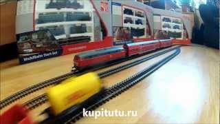 Детская железная дорога видео PIKO 57170 стартовый набор(Детскую железную дорогу купить можно в интернет-магазине моделей жд http://kupitutu.ru/collection/H0Start/product/startovyi-nabor-gruzovoi-..., 2012-12-23T22:52:05.000Z)