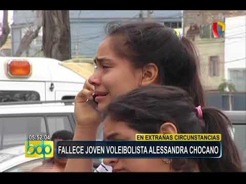 Alessandra Chocano: promesa del vóley peruano falleció a los 16 años