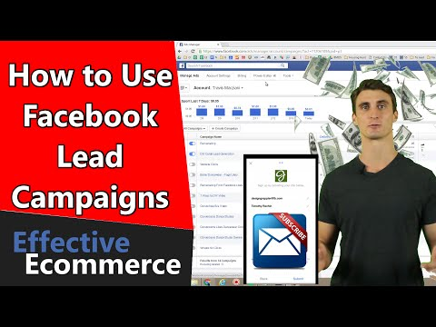 How to Use Facebook Lead Campaigns to Build Your Email List