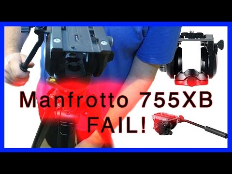 Manfrotto 755XB Aluminium Tripod legs - attempting to fix the head .