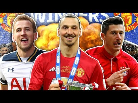 Can Zlatan Ibrahimovic Power Manchester United To Cup Treble? | Winners & Losers