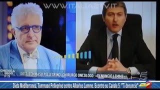 Tommaso Pellegrino contro Alberico Lemme, lo scontro su Canale 5 video