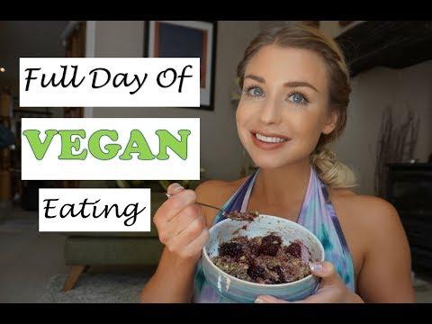 VEGAN FULL DAY OF EATING| Grocery Haul| Current Macros| GIRL TALK Ep. 5