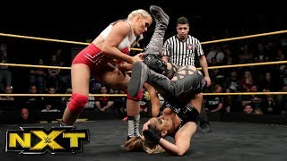 Aliyah vs. Lacey Evans: WWE NXT, Jan. 17, 2018
