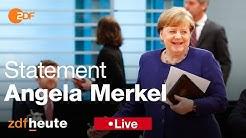 Jetzt live: Merkel zu Finanzhilfen in der Corona-Krise