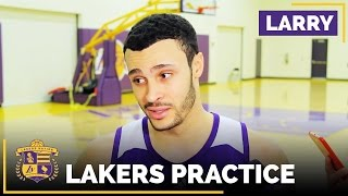 Larry Nance Jr. Rattles Off Tons Of Ivica Zubac Nicknames, Update On His Knee