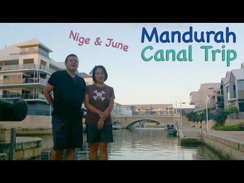 Mandurah Canal, Seafood & Dolphins! Near Perth, Western Australia